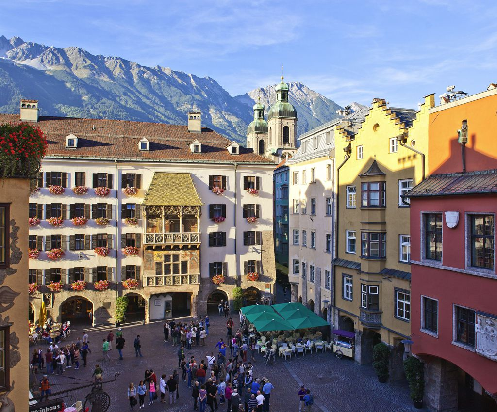 INNSBRUCK THE CAPITAL OF THE ALPS